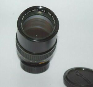 Lens MC  Tele Rokkor  PF 2,8/135mm  Minolta MD