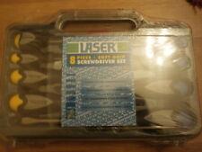 Laser 3041 8 Piece , Soft Grip , Screwdriver Set.