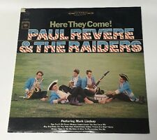 Paul Revere & The Raiders Here They Come CS 9107 Lp Record