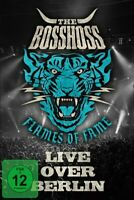 THE BOSSHOSS - FLAMES OF FAME (LIVE OVER BERLIN)  (2 DVD)  ROCK & POP  NEUF