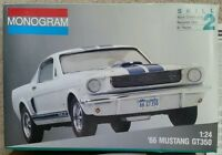 Monogram 1966 66 Ford Mustang GT350 Model Car Kit Shelby Revell Johan Vintage