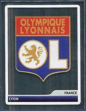 PANINI UEFA CHAMPIONS LEAGUE 2006-07- #260-LYON TEAM BADGE-SILVER FOIL