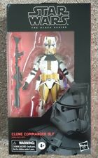 "STAR WARS THE BLACK SERIES CLONE COMMANDER BLY 6"" ACTION FIGURE NEW"