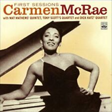 CARMEN MCRAE/FIRST SESSIONS...