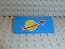 LEGO® Space Classic 3939p91 3x6x1 blue blau Space Logo groß 497 918 924 928 K244