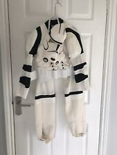 Child's Star Wars Stormtrooper Costume (see Photos) Age 7-11 Yrs
