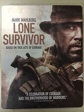 Lone Survivor Blu-Ray (no DVD) in Metal Steel Case! + HD UV DIGITAL CODE !