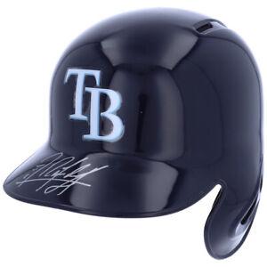 RANDY AROZARENA Autographed Tampa Bay Rays Batting Helmet FANATICS