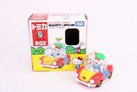 Takara Tomy Dream TOMICA Ride On R-02 Hello Kitty & Apple Car Diecast Toy Car