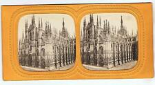 TISSUE STEREOVIEW - MILAN CATHEDRAL ITALY