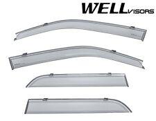 For 08-12 Ford Escape WellVisors Clip-On Side Window Visors Rain Guards