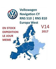 Dvd Carte europe VW RNS 510 810 navigation disc SEAT SKODA disque GPS V14 2017