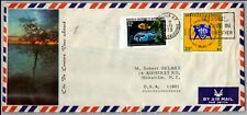 GP GOLDPATH: FRENCH NEW CALEDONIA COVER 1973 AIR MAIL _CV674_P14