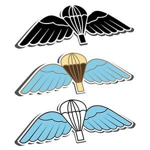 PARA JUMP WINGS STICKER - BRITISH ARMY - Parachute Regiment - Badge Parachutist