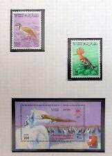 OMAN Beautiful Birds (2) & M/Sheet U/M NB4313