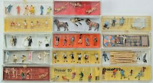 Preiser Figuren Menschen Tiere Zubehör Modelle 1:87 HO