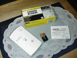BRK CO604B Carbon Monoxide Alarm AC Powered / 9V Battery BackUp NEW IN BOX!