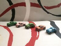 Lot of 5 Miniature Diecast Cars