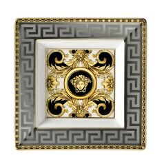 VERSACE MEDUSA GOLD ASH TRAY PLATE PRESTIGE GALA ROSENTHAL NEW RETAIL $300 SALE