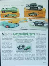 DINKY TOYS Editions Atlas FORD TAUNUS + Auto Union in 1-43... un modello relazione