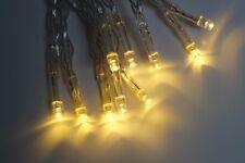 Lichterkette 10 LED Warmweiß Batterie Timerfunktion für Außen geeignet KV