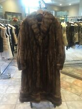 Vintage Russian Sable Full Length Coat