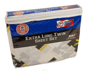 Missouri Tigers NCAA (Extra long) Twin Sheet Set with Pillow Case