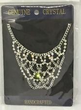 DIAMANTE Rhinestone Pretty Necklace Party Wedding Gift Valentines Day J63