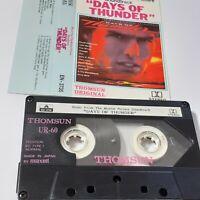 DAYS OF THUNDER MOVIE FILM SOUNDTRACK THOMSUN IMPORT CASSETTE TAPE ALBUM SAUDI