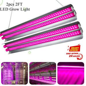 2 X 2000W Plant LED Grow Light T5 Tubes Full Spectrum Indoor Flower Growing Lamp