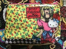 Betsey Johnson Vintage Hello Kitty Sanrio Collab. Comic Cartoon Coin Pouch Bag