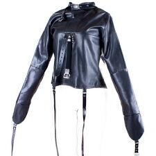 Women's Straitjacket PU Leather Strict Bondage Kinky Straight Jacket Kinky AS