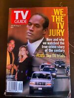 TV Guide OJ Simpson Trial July 30-August 5 1994