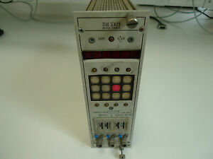 Scaler Timer Dual NIM Nuclear Instrumentation Module Nuclear Enterprises 4681