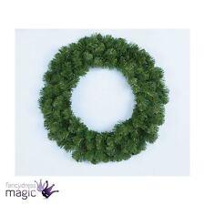 50cm Alaska Verde Pino Corona Artificiale Natale Interno Da Parete Porta
