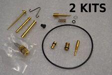 2x Honda CB350 CL350 70-73 K2 K3 K4 Carburetor Rebuild Kit 722A Carb - 2 KITS