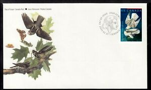 CANADA FIRST DAY COVER #1983 65c, 2003 AUDUBON'S BIRDS-1