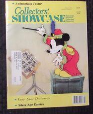 1991/92 COLLECTORS SHOWCASE Magazine v.10 #9 v.11 #2 6 FVF Animation LOT of 3
