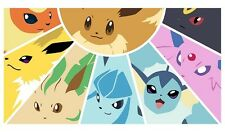 Pokemon GO Eevee Evolutions GENERATIONS Custom Playmat #25 FREE SHIPPING