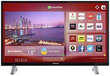 Hitachi 32 Inch HD Ready 720p Freeview Play Smart WiFi LED TV - Black