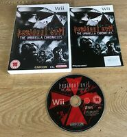 Resident Evil The Umbrella Chronicles - Nintendo Wii - PAL - Tested - Free P&P