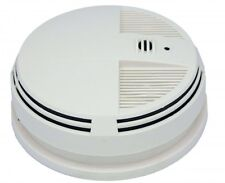 KJB Security 720P HD Night Vision Side View Smoke Detector Hidden Nanny Camera
