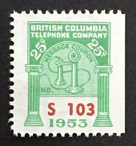 Lot57 British Columbia Telephone Frank BCT170 CV20.00
