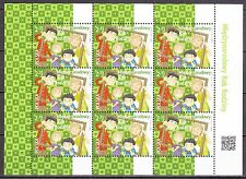 POLAND 2014 **MNH SC#  Special Sheet - International Year of Families