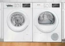 Bosch 300 Series Front Load Wht Washer + Ventless Dryer Wat28400Uc / Wtg86400Uc
