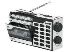 QFX J-7 Retro AM/FM/SW(shortwave) Radio Portable Cassette Player/Recorder
