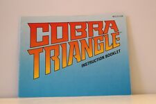 NES Game Manual ONLY for Cobra Triangle Nintendo Entertainment System