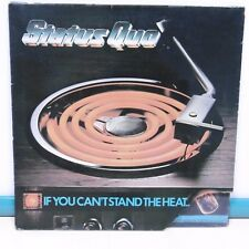 "33T STATUS QUO Vinyl LP 12"" IF YOU CAN'T STAND THE HEAT.. Hard Rock VERTIGO 2027"