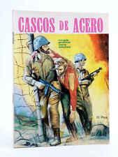 CASCOS DE ACERO. NOVELA GRÁFICA PARA ADULTOS. Boixher, 1966