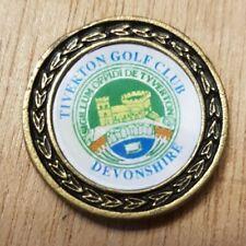 Tiverton Golf Club Ball Marker (D8)